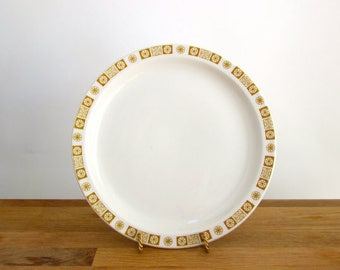 Mid Century Atomic Starburst Dinner Plates - Priced PER Plate, 13 Plates Available