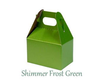 Boxes ,  Green Take Out Boxes & Containers , Green Gable Boxes , Barn Boxes , Mini Gable Boxes , Favors, gifts,