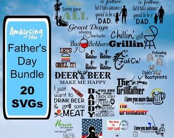 Fathers Day SVG Bundle - Fathers Day - Dad SVG - Men svg - boyfriend svg - military svg - patriotic svg - Dad svg
