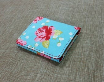 Kids Cash Envelope Wallet, Cash Budget Wallet -Antique Rose- for use with the Dave Ramsey System