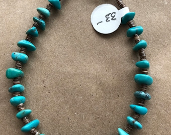 TB-05 - Native American Turquoise bracelet