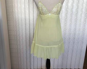Victoria 's Secret Lime Shade Teddy, Medium