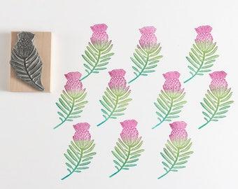 Protea Rubber Stamp