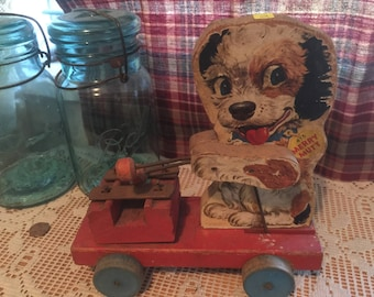 Vintage Child's Dog Toy