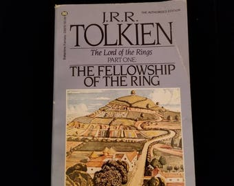 The The Fellowship of the Ring (Lord of the Rings part 1) J.R.R. Tolkien 1987