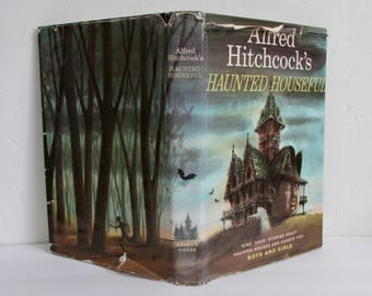 Alfred Hitchcock's Haunted Houseful 1961 Random House Hardcover with Dust Jacket