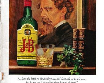 1964 J & B Scotch Whiskey Magazine Ad