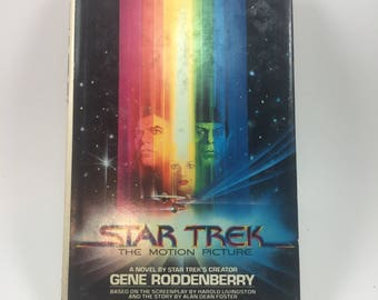 Star Trek, The Motion Picture; by Gene Roddenberry, 1979 Hardback