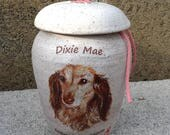 CUSTOM Dog Urn 30 lb Pet