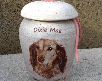 CUSTOM Dog Urn Up to 30 lb Pet