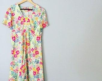 Retro 1990s Summer Dress