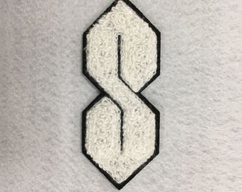 Mysterious S Doodle Patch 90's Embellishment