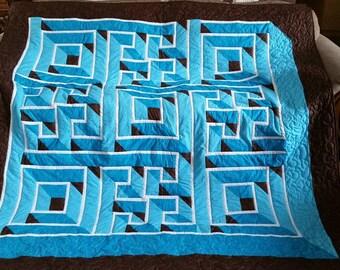 Labyrinth quilt   Etsy : labyrinth quilts - Adamdwight.com