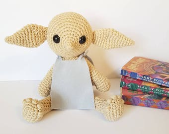 Dobby the House Elf. Harry Potter Dobby. Harry Potter House Elf. House Elf Stuffed Animal.