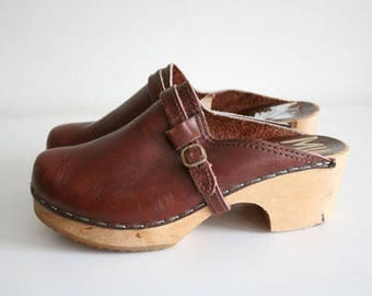 VTG MIA CLOGS 39 or 8 Made in Sweden