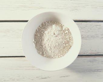 White Kaolin Clay - 4 ounces - White Kaolin Clay - White Kaolin Clay powder