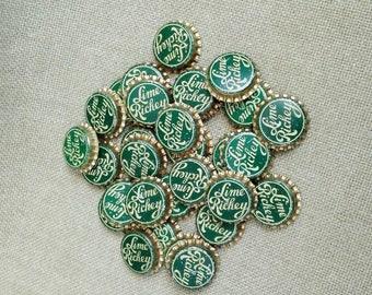 "30 Vintage ""Lime Rickey"" Bottle Caps"