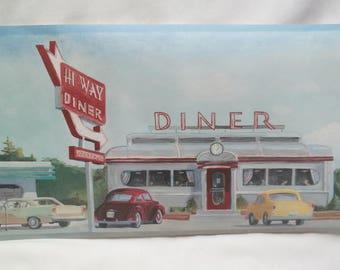 Wallpaper Border Two Rolls Plus 50's Diner Wallpaper Retro Style