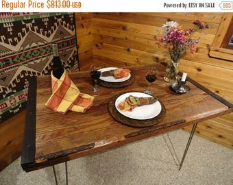 Limited Time Sale 10% OFF 30 X 84 Industrial Dining Table with Hairpin Legs