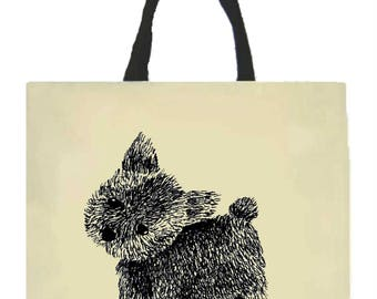 Puppy Tote Bag, Canvas Tote Bag, Dog Lover Tote Bag, Dog Lover Gift, Dog Tote Bag, Puppy Tote Bags, Dog, Puppy