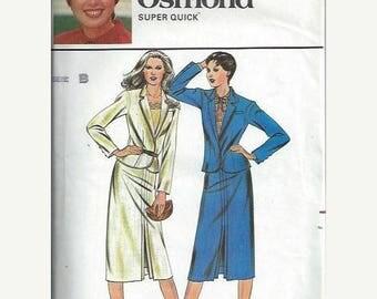 ON SALE Butterick 6986 Marie Osmond Jacket & Skirt Pattern, Size 8-12 UNCUT