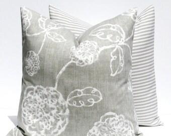 15% Off Sale Decorative Pillows Gray Pillow - Throw Pillow Covers 18x18  Gray Pillow Housewares Home Decor Cushion Covers Decorative Pillow