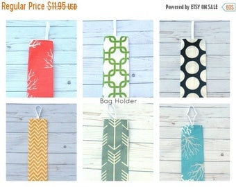 15% Off Sale Plastic bag holder,  Grocery Bag Holder, Kitchen organizer,  Housewarming gift - Bag holder - Grocery Bag Holder - Home Decor -