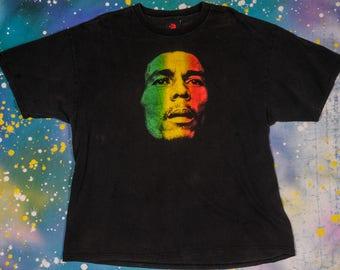 BOB MARLEY Rasta Reggae Rock T-Shirt Size XXL