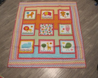 Baby Girl or toddler Quilt