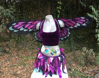 Dark fairy outfit