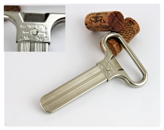 """Vintage Monopol ,,Ah-So"""" Prong Cork Puller Made in West German"""