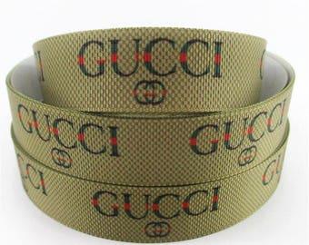 "1"" Gucci Grosgrain Ribbon"