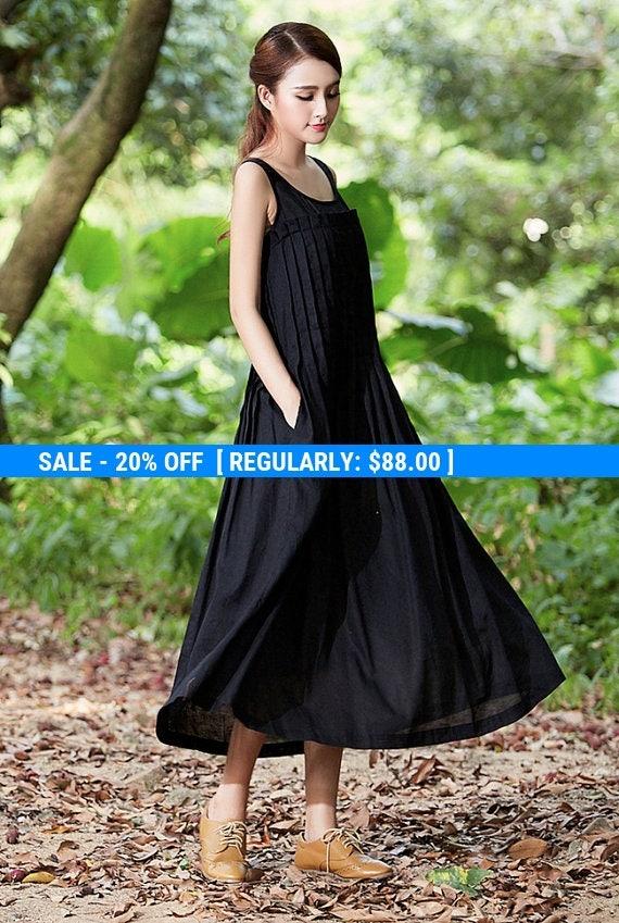 Black dress long 00