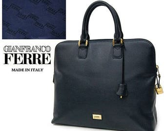 Gianfranco Ferre classic leather bag