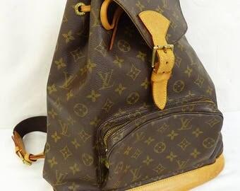 Louis Vuitton backpack  monogram vtg