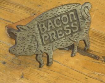 Bacon Press , Cast Iron Bacon Press , Cast Iron