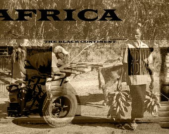 African Art Collage