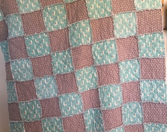 Snuggle Flannel Rag Quilt