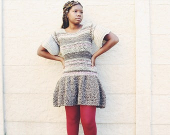 The Northern Crochet Dress Pattern. Instant Download!