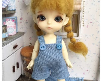 """Lati White Outfit : """"Jean Dungarees"""" (Dungarees)"""