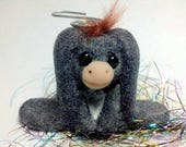 OOAK Nestor the Long Eared Donkey Ornament by Aaron Matthies
