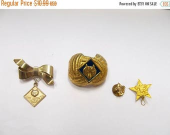 ON SALE Vintage Collection of Boy Scout Items Item K # 1118