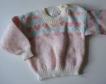 Cozy baby sweater - 12 months