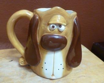 3D Basset Hound dog mug by Douglas