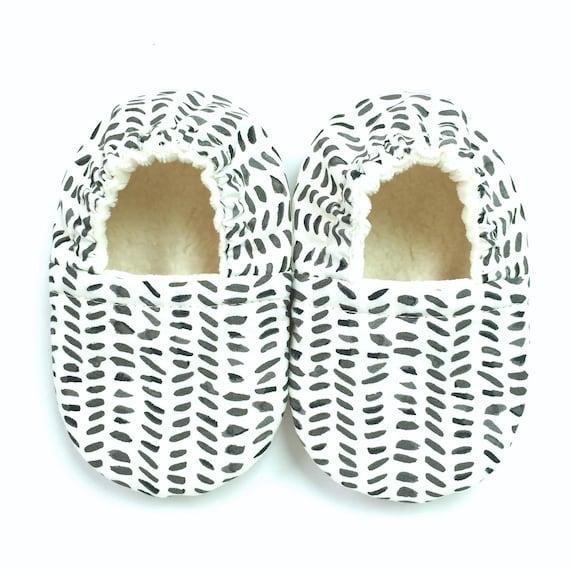 Ink Blot Soft Sole Vegan Baby Shoes