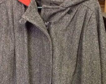 Vintage Herman Kay Wool Coat