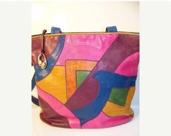 60% OFF Clearance Sale Vintage 80s Sharif Leather Shoulder Bag Purse