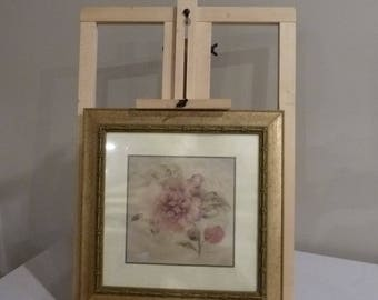 Used Portable Easle, Table Top Painting Easle made of wood