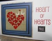 Bent Creek 'Heart of Hearts' Cross Stitch KIT