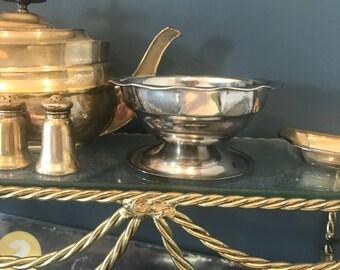 Small tin decorative bowl